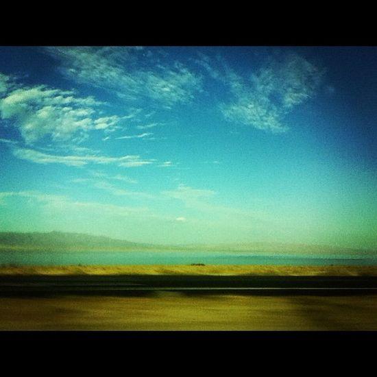OnOurWay Beach Bluesky . (: