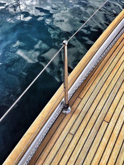 Sail Boat Velero Deck Cubierta