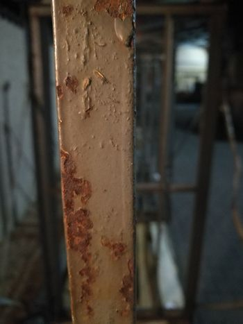 Rusty Window Close-up Architecture Built Structure Building Exterior