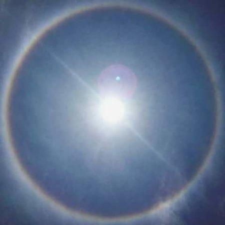 El eclipse de hace poco