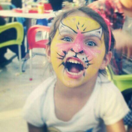 My LiTTLE NIEcE ARrrrrrrr Tiger Libyan Moster Thbel niece cute cat