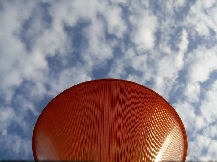 Lamp Sky And Clouds Gate Lamp Orange Color Colour Of Life Colourfull Popular No Edit No Filter Still Life Photography The Magic Mission