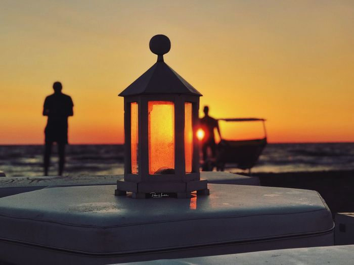 Sunset in Sicily - Summer 2k18 Isola Delle Correnti Sicily, Italy Sunset Sky Orange Color Silhouette Water Sea My Best Travel Photo Beach Horizon Scenics - Nature Rear View Looking At View Standing Nature