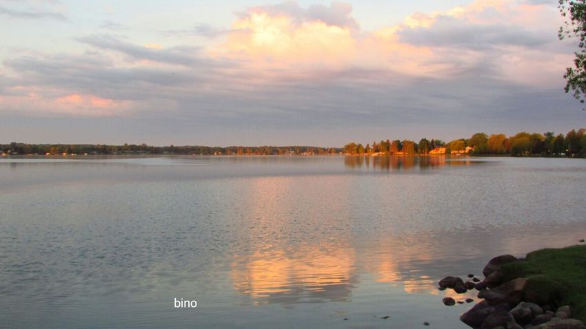 From The Archives Morning Walk Around The Lake No People Morning Light Water Reflections Lake Cadillac Pure Michigan