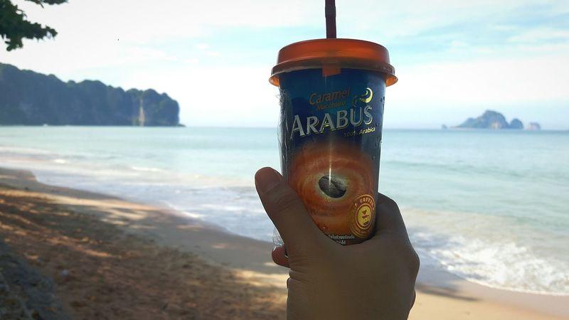 EyeEm Selects Honeymoon Krabi Island Krabi Thailand Krabi Water Tree Sea Day Men People Outdoors Cofee Hour Cofee In The Morning ☺❤ Cofeebreak Sand Beach Lost In The Landscape Connected By Travel