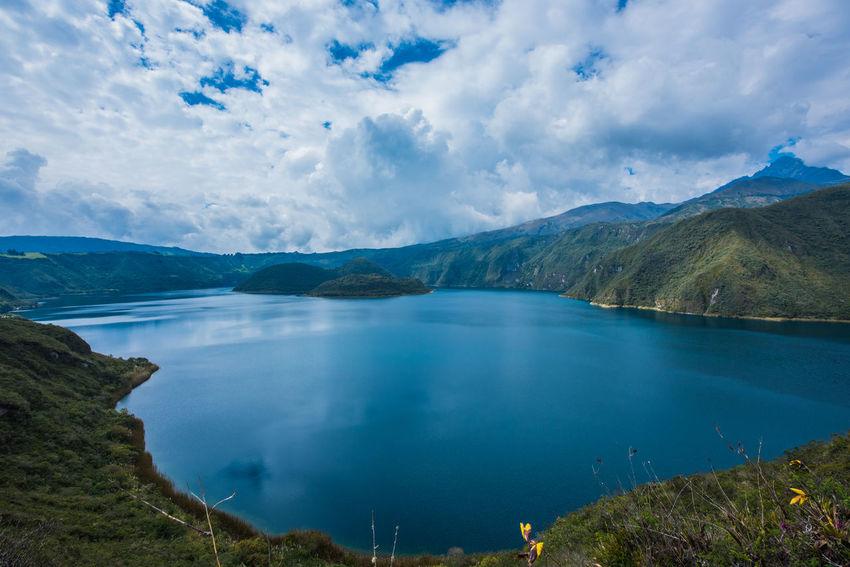 Ecuador Lake View Nature Nature Photography Otavalo, Ecuador Tranquility Ziseetheworld Ziwang