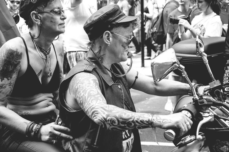 Tattoo Arts Culture And Entertainment Vscolondon People Londononly London4all Pride2017 Igerslondon Togetherness Pride Parade 2017 London_only Happiness LONDON❤ Pride 2017 LondonIsOpen Adult Regentstreet Londonstreets Blackandwhite Blackandwhite Photography Black & White Motorcycle Motorbike Women Womanontheroad EyeEm LOST IN London The Week On EyeEm Postcode Postcards