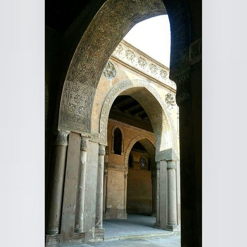 The Architect - 2017 EyeEm Awards History Entrance Architecture Door Ancient No People Arch Mosque Mosque Of Ibn Tulun Mosque Architecture Mosque Photography Religion Cairo Cairo Egypt