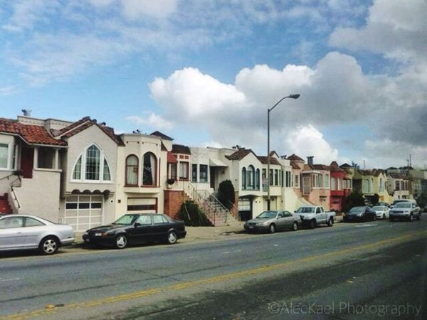 Cute houses in SF. San Francisco Architecture Houses Travel