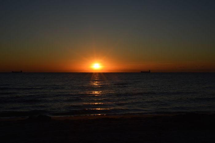 Atlantic Ocean Fort Lauderdale  Fort Lauderdale Beach Skyline Sun Rise Beach Beauty In Nature Florida Florida Nature Getaway  Horizon Over Sea Horizon Over Water Nature Ocean Outdoors Scenics Sea Sky Sunrise Vacation Water