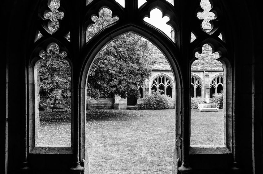 Arch Arched Architectural Column Architecture Belief Building Building Exterior Built Structure Courtyard  Day Eye4black&white  Eye4photography  History Monochrome Nature No People Ornate Outdoors Place Of Worship Plant Religion Shootermag Spirituality The Past Window