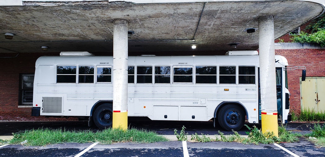 Cramped. Abandoned Abandoned Places Bus Stationary Land Vehicle Parking Garage Parking Parking Lot Deterioration Discarded Run-down The Mobile Photographer - 2019 EyeEm Awards