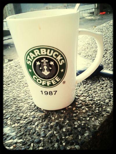 Goodmorning World  Enjoying A Cup Of Coffee