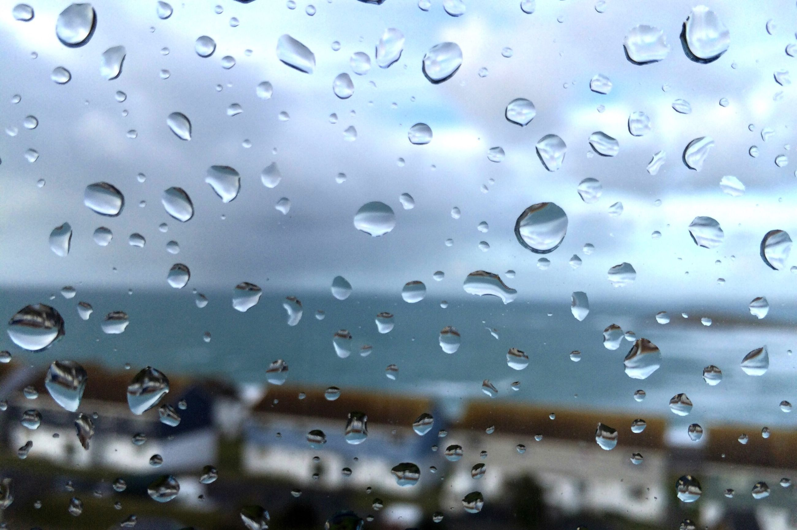drop, wet, water, window, rain, transparent, raindrop, glass - material, indoors, weather, focus on foreground, backgrounds, full frame, season, close-up, sky, glass, droplet, water drop, nature