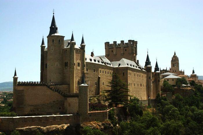 Segovia SPAIN Medieval Acueducto Roman Ancient Travel Vacations Espanha España