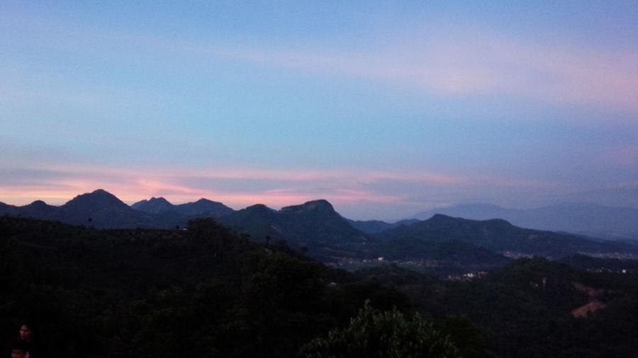 view taman love kabupaten bandung Mountain Landscape Sunset Outdoors Nature Travel Sky first eyeem photo