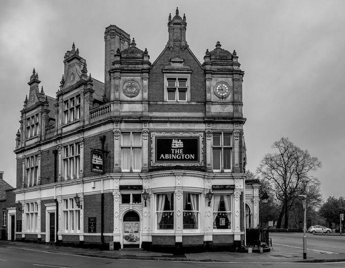 The Abington Park Hotel from Riseholme Road, Northampton Architecture Pub Pubs Northampton Pubs Urban Northampton Monochrome Photography Monochrome FUJIFILM X-T2 Black And White