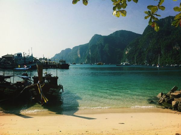 Koh Phiphi Enjoying Weed  Krabi Thailand