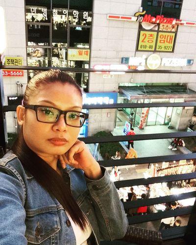 Chilling Selfies Hongdae Seoul, Korea October 2015