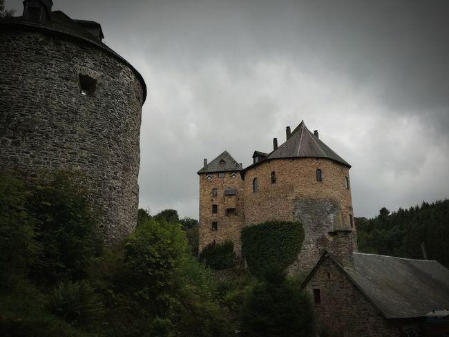 History Medieval Fort Castle Belgium Sky Ancient Reinhardstein