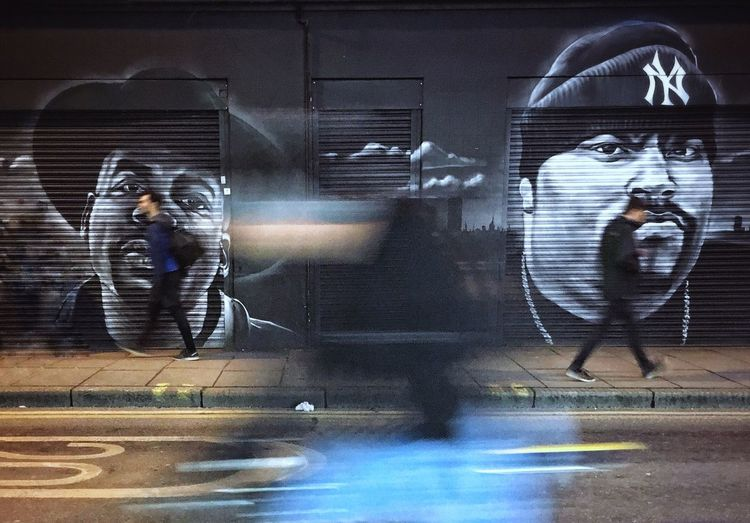 human kind. Blurred Motion Reflection Mirror Motion Photographing Speed Real People Long Exposure Technology Illuminated Men Graffiti Art Photography Themes Lifestyles Young Adult Night One Person Gangsta People London Street Photography - EyeEm Awards 2016 Motion Blur Life London Lifestyle EyeEm LOST IN London Postcode Postcards