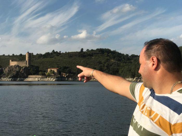 Grangent Castle Loire River Loire Grangent Barrage River