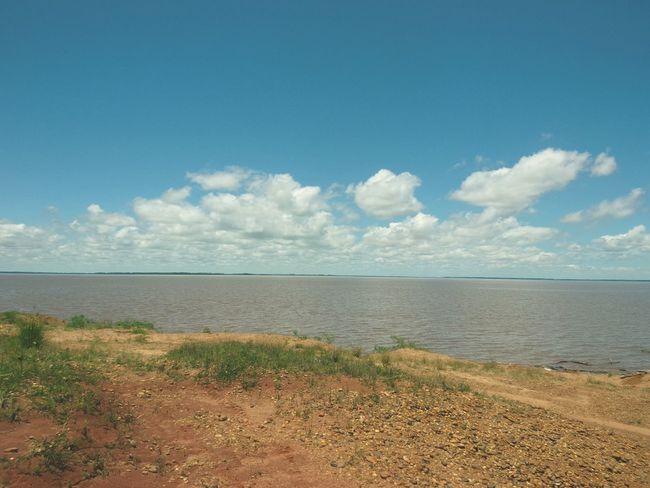 cielo, agua y tierra