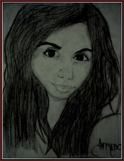 Un dibujo que hice que me gusta mucho <3 Love