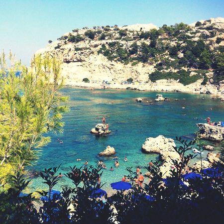Ródosecia] Ródos Anthony Quinn Bay Summer 2012