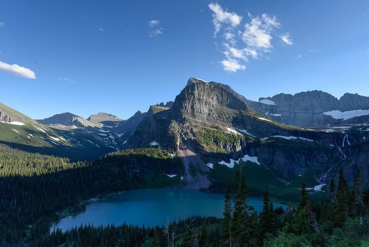 My first trip to Glacier National Park, Montana, rewarded me with stunning views everywhere! I was inspired to visit because of great photos that I'd seen, and the realization that the glaciers are receding, and may disappear in the near future. Sky Mountain Scenics - Nature Beauty In Nature Tranquility Tranquil Scene Plant Mountain Range Water Lake Blue Idyllic Outdoors No People Nature Cloud - Sky Non-urban Scene Day Growth Sky Mountain Scenics - Nature Beauty In Nature Tranquility Tranquil Scene Plant Mountain Range Water Lake Blue Idyllic Outdoors No People Nature Cloud - Sky Non-urban Scene Day Growth The Great Outdoors - 2018 EyeEm Awards