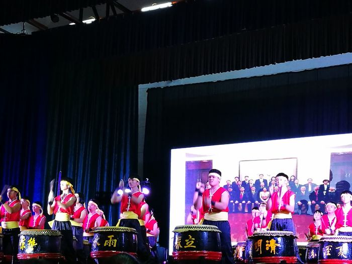 Chinese Culture Arts Culture And Entertainment Stage - Performance Space Music Indoors  Performing Arts Event Performance Dj People Night Stage Light 24 Drums
