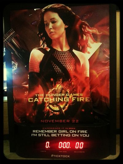 Catching Fire The Spark The Hunger Games this was the best movie ever