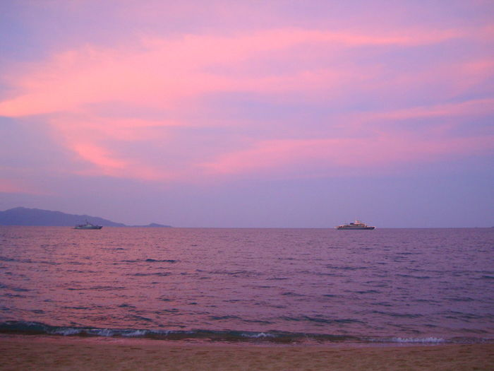 Sunset at Samui, Thailand Beauty In Nature Nature No People Outdoors Scenics Sea Sky Sunset