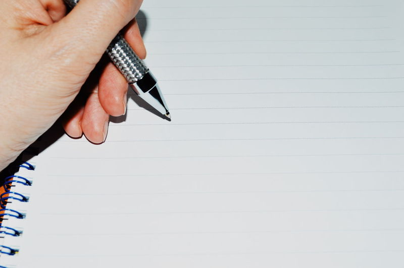 Paper Empty Empty Paper Human Hand Businessman Business Office Business Finance And Industry Studio Shot Copy Space Close-up Fountain Pen Writing Instrument Handwriting  Written Love Letter Lined Paper Letter Pen Office Supply A New Perspective On Life