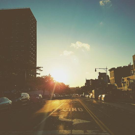 Bring it, Brooklyn. Sunset