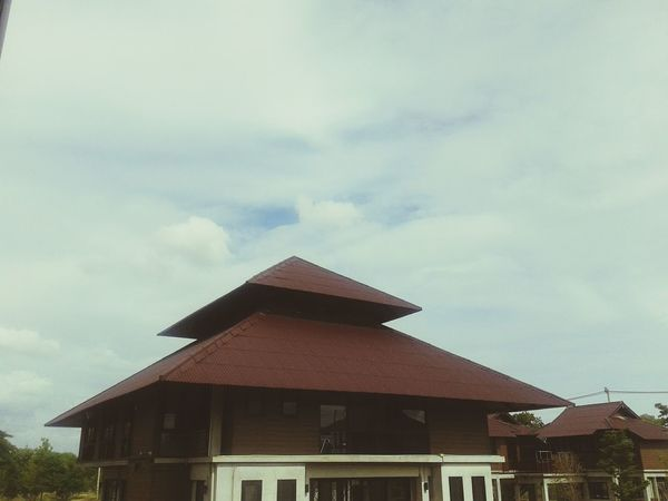 At Home MyUniversity Green University Sky_collection Sky And Clouds Cloud_collection  ☁⛅🍃