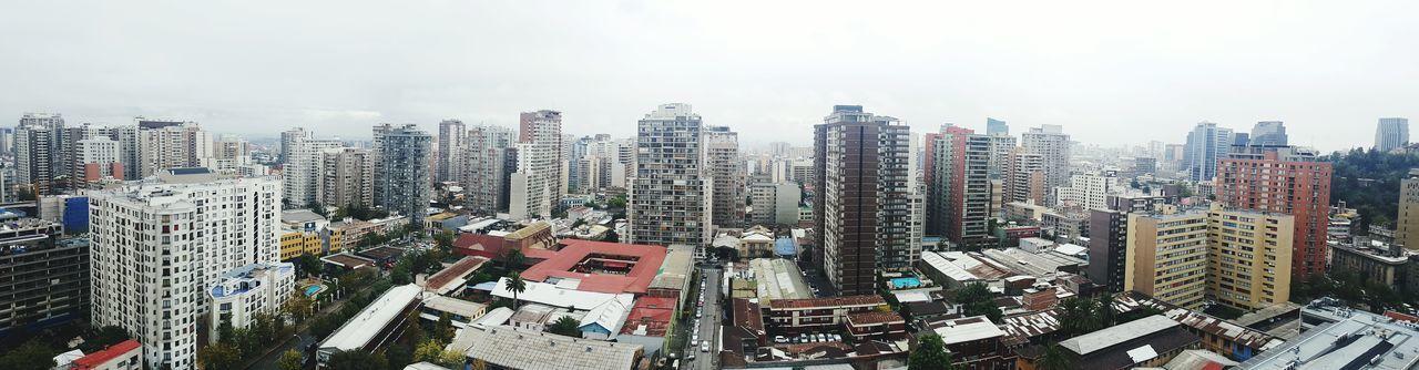 Mi hogar Santiago Chile Region Metropolitana Nubes Cielo Edificios Cultura Historia