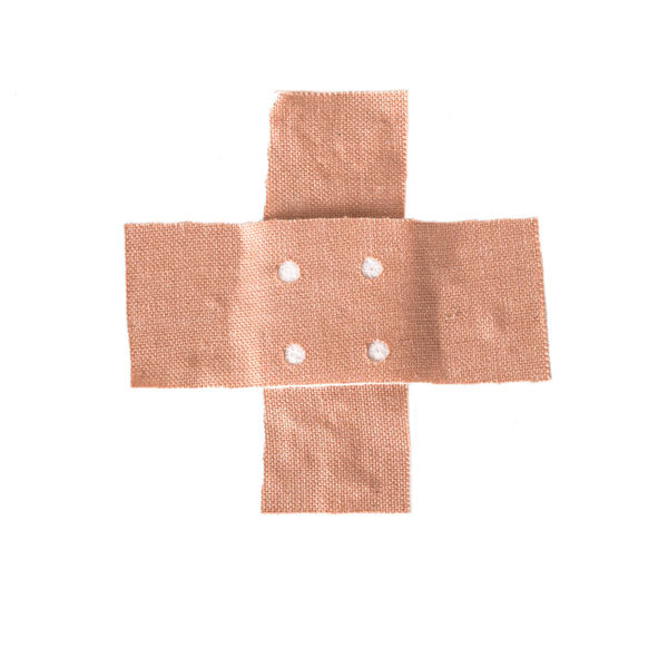Care Copy Space Medicine Objects Adhesive Bandage Band Aid Bandage Concept Cut Out Directly Above First Aid Health Health Care Healthcare And Medicine Medical Metaphor Object Plaster Protection Single Object Studio Shot Symptom White White Color Wound