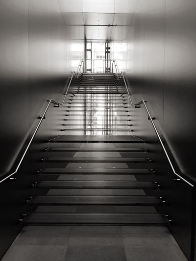 Empty Steps In Modern Building