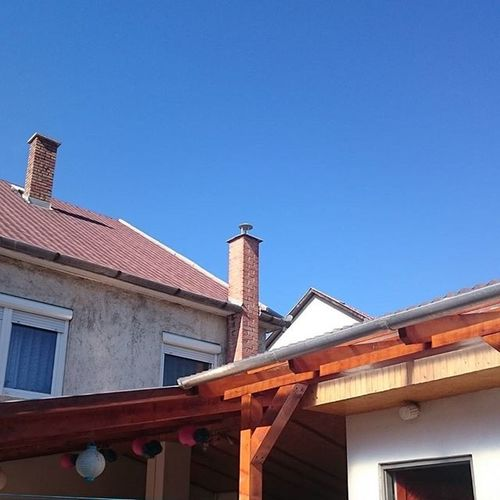 Piece of Home Homesweethome House Spring Blue Sky Blueskies Noclouds Nofilter Nofilterneeded Mik Ikozosseghungary Ikozosseg Ig_hun Ig_hungary Countryside