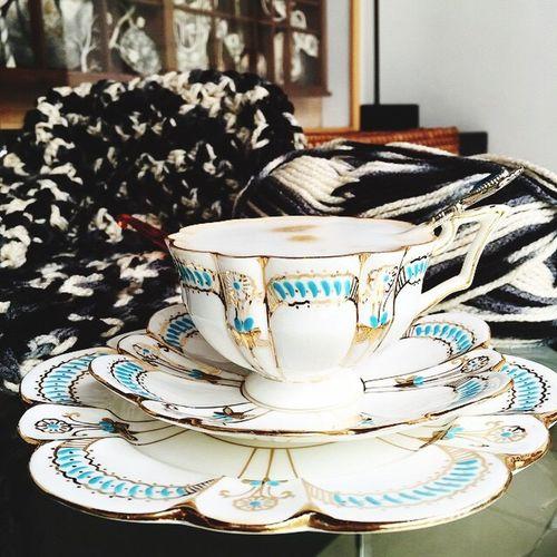 Showcase: November ThrowBackMyCollection Brightenmyday Vintage Teacups Knitting Myhobbies EyeEmbestshots at Jakarta