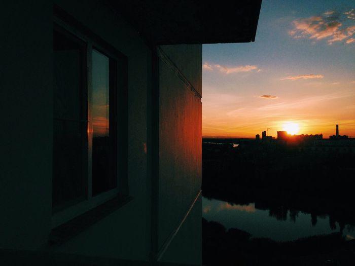 Закат в Краснодаре. Красивое завершение дня Russia Sunset Check This Out Enjoying The View