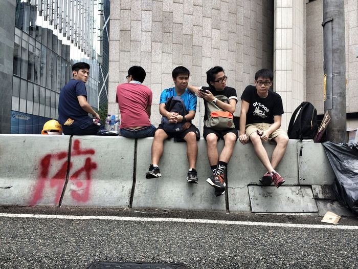 the waiting game Hong Kong Student Protest Occupycentral Michaelkistlerphotography