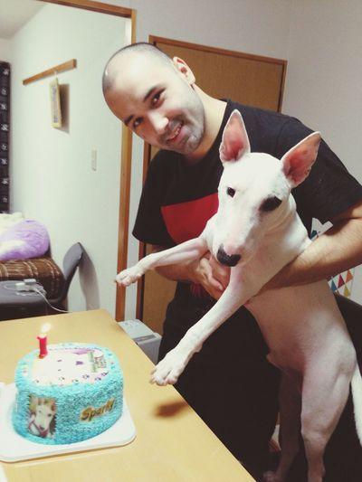 Happy Birthday Sparky!! I Love My Family I Love My Dog
