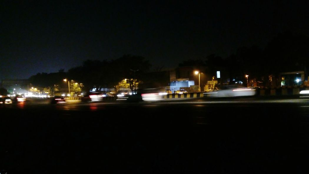 Night No People Transportation Outdoors City Long Exposure Photography Land Vehicles City Lights Cityview