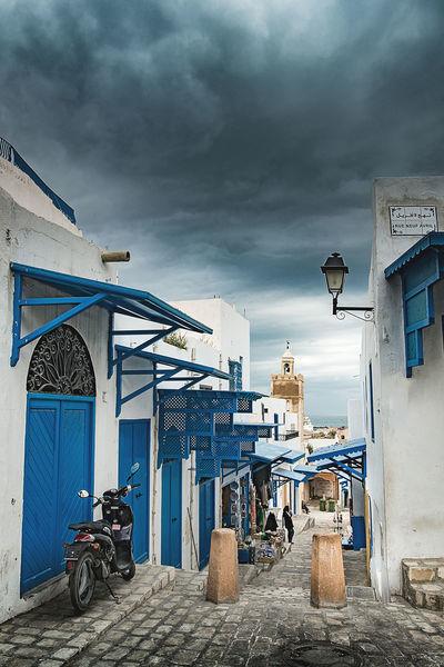 old Medina of sousse by a winter day Medina Medina Sousse Old City Streets Street Street Photography Tunisia Tunisian Tunisie EyeEmNewHere Cloud - Sky Architecture Old City EyeEmNewHere.