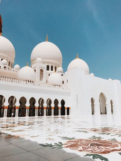 Dome Religion Travel Destinations Architecture Place Of Worship Spirituality Tourism No People Building Exterior Marble Outdoors Built Structure Day Sky