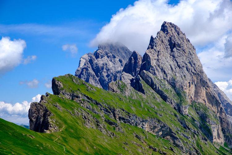 Seceda mountain