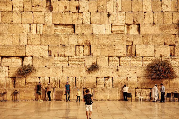 Western wall in