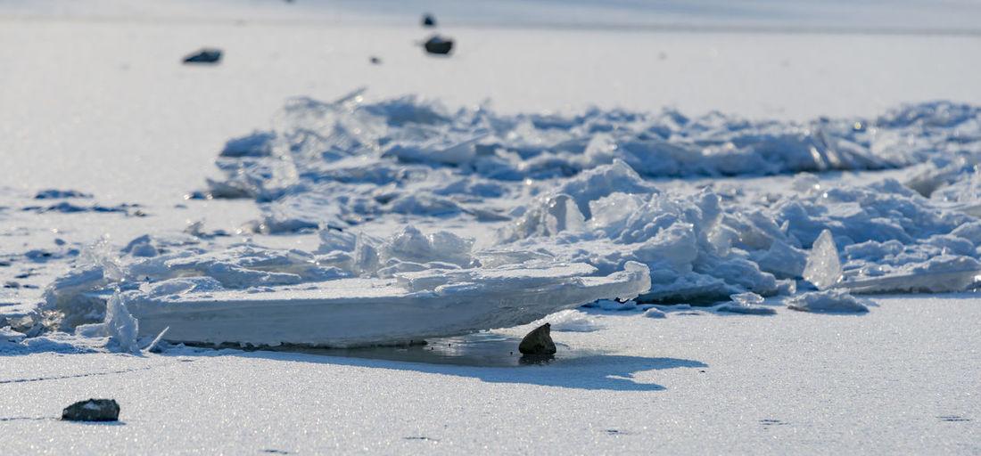 Danube Frozen